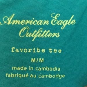 American Eagle Outfitters Tops - American Eagle deep v neck tee